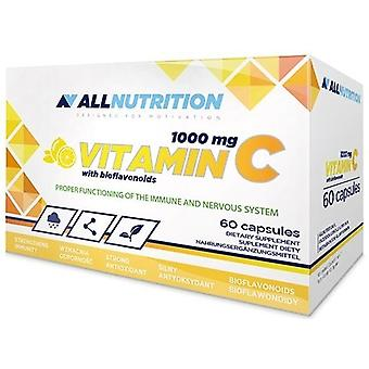 Allnutrition Vitamine C avec bioflavonoïdes 1000 mg, 60 capsules