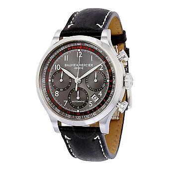Baume and Mercier Capeland Chronograph Grey Dial  Men's Watch 10003