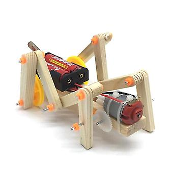 Wood insect building kit diy insects material set 3d assemble wooden puzzle