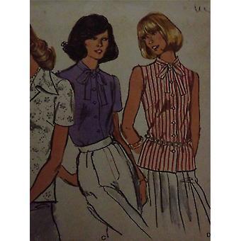Vogue coser patrón 8808 misses señora blusa tamaño 42 sin cortar