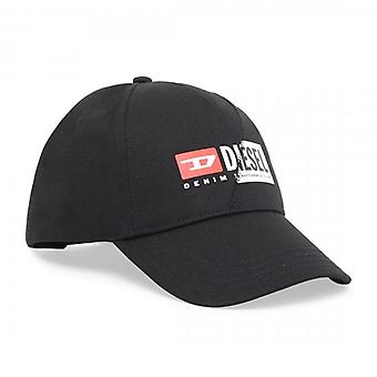 Diesel Cap-Cuty Logo Black Baseball Cap