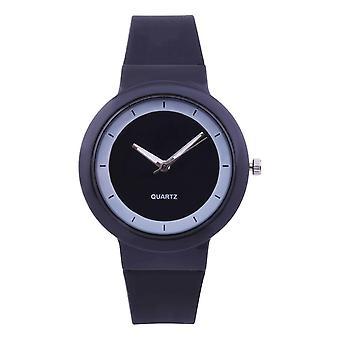Silicone Strap Casual Sports Ladies Quartz Wrist Watch