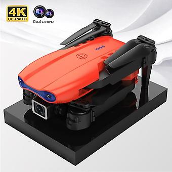 Mini drone 4k profession hd angle camera 1080p wifi fpv drone dual camera height keep drones camera helicopter toys smart selfie