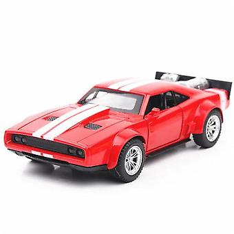 1:32 Dodge Ice Charger Metal Toys Alloy Car(Red)