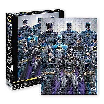 Batman - batsuits 500 piece puzzle