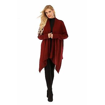 Women's Long Sleeve Open Front Cardigan Top