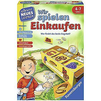HanFei 24985 - Wir spielen Einkaufen - Spiele und Lernen fr Kinder, Lernspiel fr Kinder ab 4-7