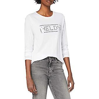 Herrlicher Nerissa Jersey T-Shirt, White 10, XS Woman