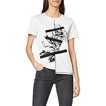 Desigual Seryll T-skjorte, Hvit (Blanco 1000), Medium Woman