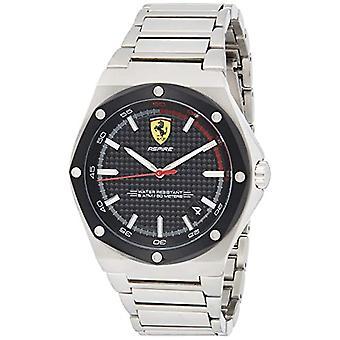 Ferrari Men's Quartz Watch with Stainless Steel Strap 830666