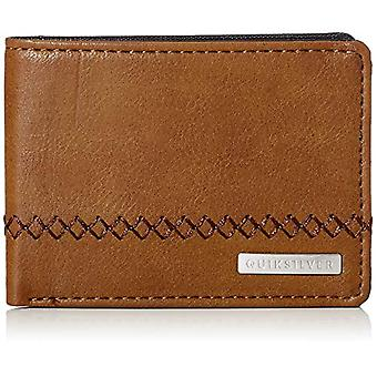 Quiksilver STITCHY, Men's Wallets, Chocolate Brown, S
