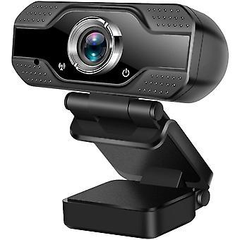 FengChun Webcam mit Mikrofon, 1080P Full HD USB Web Kamera für PC Laptop Computer für Video