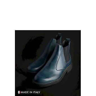 SB 3012 - Shoes - Ankle Boots - 401D-PELLE-BLU - Men - steelblue - EU 41