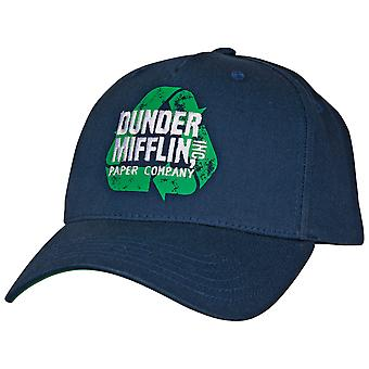The Office Dunder Mifflin Recycle Adjustable Snapback Hat