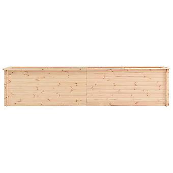 vidaXL Garten-Hochbeet 450×50×80,5 cm Kiefernholz 19 mm