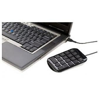 Targus USB Numara Defteri - Siyah/Gri