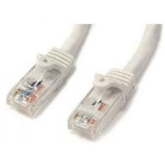StarTech Biały Gigabit Snagless RJ45 UTP Cat6 Patch Cable - Kabel łaty (1m)