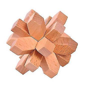 Švestkový květ lubán zámek puzzle hračka dt7508