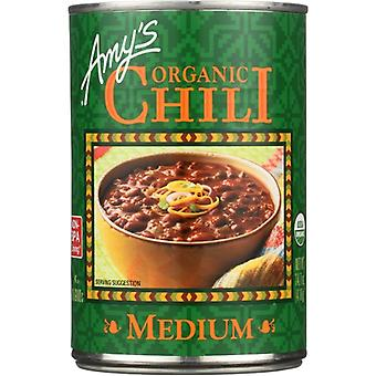 Amys Chili Medium Gf Org, Case of 12 X 14.7 Oz