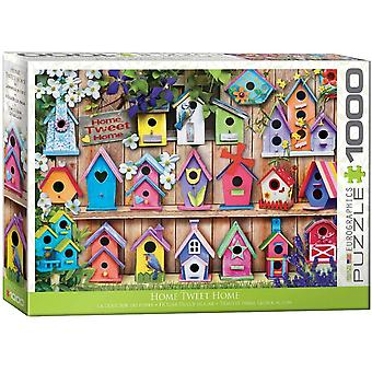 Eurographics Home Tweet Home Jigsaw Puzzle (1000 pièces)