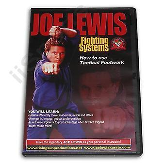 Joe Lewis Fighting Tactical Footwork Dvd -Vd6779A