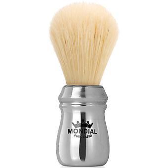 蒙迪亚尔野猪剃须刷闪亮的铝