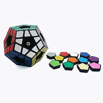 Megaminx Cube Dodecahedron Speed Cube 3x3 Special Shaped Puzzle Cube