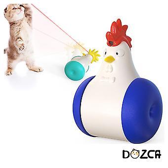 Pet Laser Hračka Mačka Kohút pískajúce valček hračky