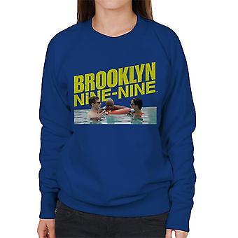 Brooklyn Ni-Ni Jake Og Amy Bryllupsreise Med Holt Kvinners Sweatshirt