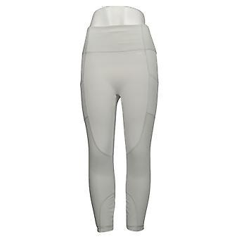 zuda Leggings Regular Z-Move w/ Mixed Mesh Gray A377799