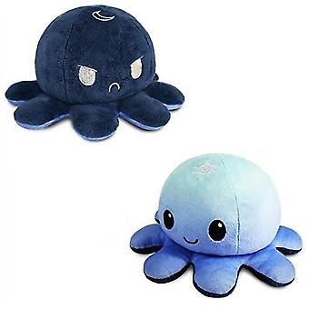Vändbar bläckfisk plushie leksak