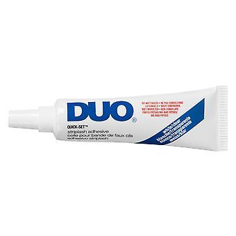 DUO EYE LASH ADHESIVE CLEAR GLUE 1/2 OZ QUICK SET