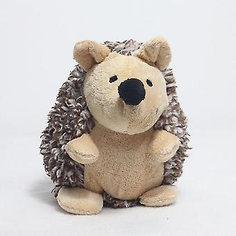 Stofftiere Igel Plüsch Spielzeug Tier Puppe Baby Schlafpuppe 15cm braun ausgestopft Plüsch Igel Puppe Geburtstag Hochzeitsfeier Dekoration