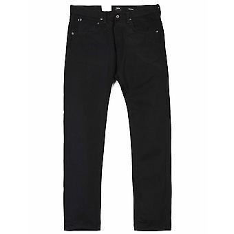 Edwin Jeans Ed-55 Regular Avsmalnande Selvedge Denim - Svart (sköljd)