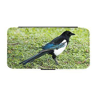 Custodia portafoglio Bird Magpie iPhone 12 / iPhone 12 Pro