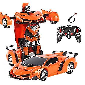 Robotic toys 26 styles rc car transformation robots sports vehicle model robots toys remote cool rc deformation