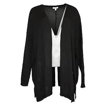Skinny Girl Women's Sweater Reg Sundazed Mouj Cardigan Black 730573