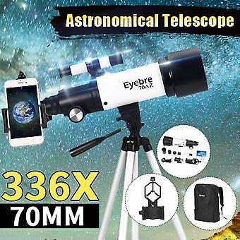 Профессиональный астрономический телескоп Монокулярный 152x Преломляющий космический телескоп