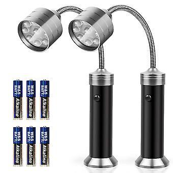 2pcs Grill Light, Magnetic Grill Lamp Grill Lighting des deux côtés