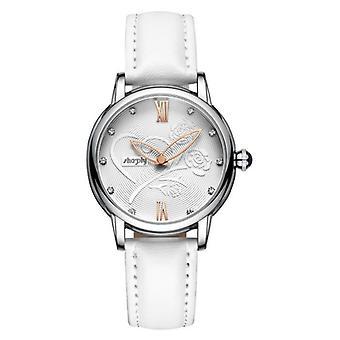 Women Leather Bracelet Watch