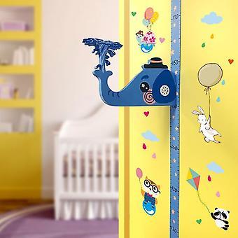 Koolyou Carte de hauteur détachable pour enfants 3D Mesure De la crèche pour enfants Autocollant mural-b