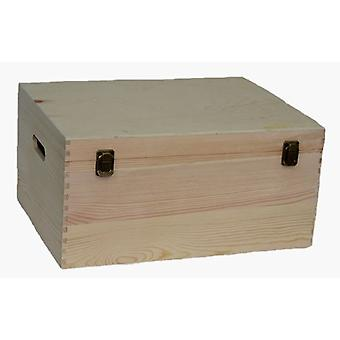 40cm Wooden Bottle Carrier Box