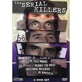 The Serial Killers [3 Discs] [DVD] USA import