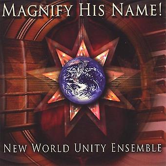 新しい世界統一のアンサンブル - 彼の名前 [CD] USA 輸入を拡大します。