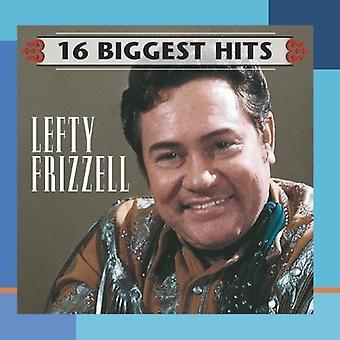 Lefty Frizzell - 16 største Hits [CD] USA importerer
