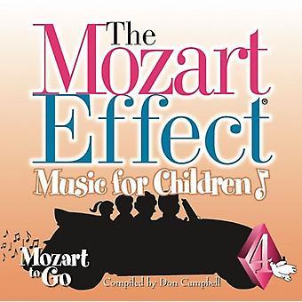 Mozart Effect-Music for Children - Mozart Effect-Music for Children: Vol. 4-Mozart to Go [CD] USA import