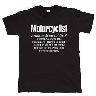 Camiseta de motociclista Mens Funny Biker, Superbike MotoGP TT Gift for Dad Him