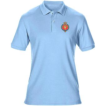 Welsh Guards Embroidered Logo - Official British Army Mens Polo Shirt