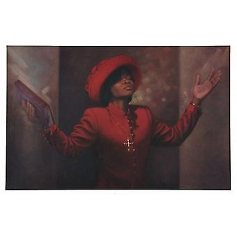 Blessed and Highly Favored Poster Print by Henry Lee Battle (36 x 24)