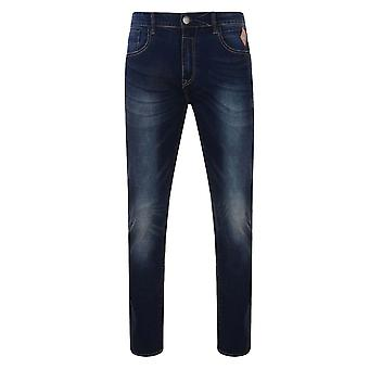 Kam Sergio Low Rise Stretch Jeans